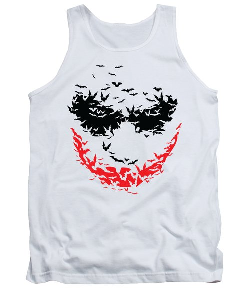 Bat Face Tank Top