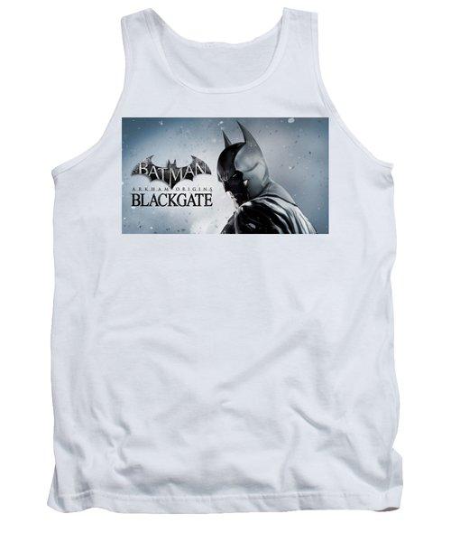 Batman Arkham Origins Blackgate Tank Top