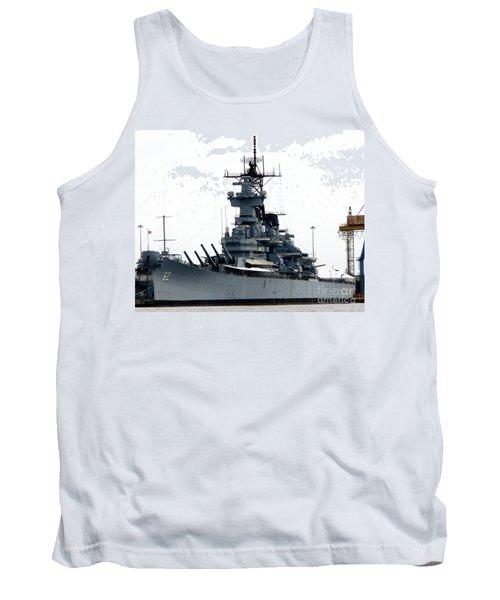 Battleship New Jersey Tank Top