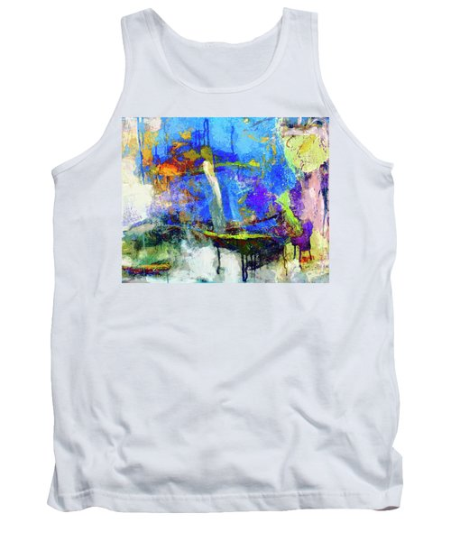 Tank Top featuring the painting Bayou Teche by Dominic Piperata