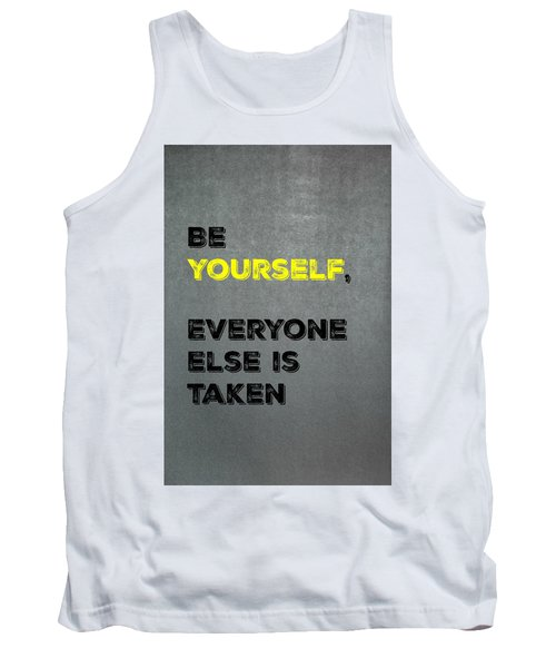 Be Yourself #4 Tank Top