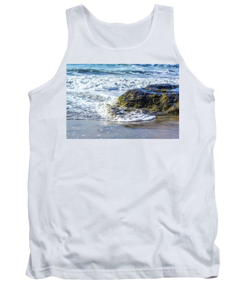 Wave Around A Rock Tank Top