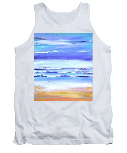 Beach Dawn Tank Top by Winsome Gunning