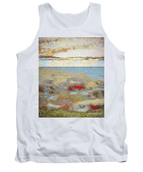 Tank Top featuring the photograph Beach Dunes by William Wyckoff