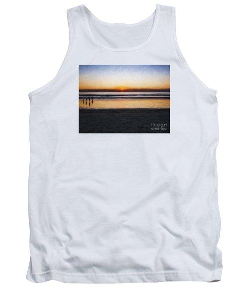 Beach Family  ... Tank Top