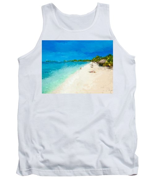Beach Holiday  Tank Top by Anthony Fishburne