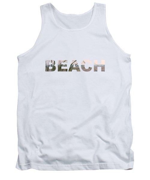 Beach Tank Top by Laura Kinker