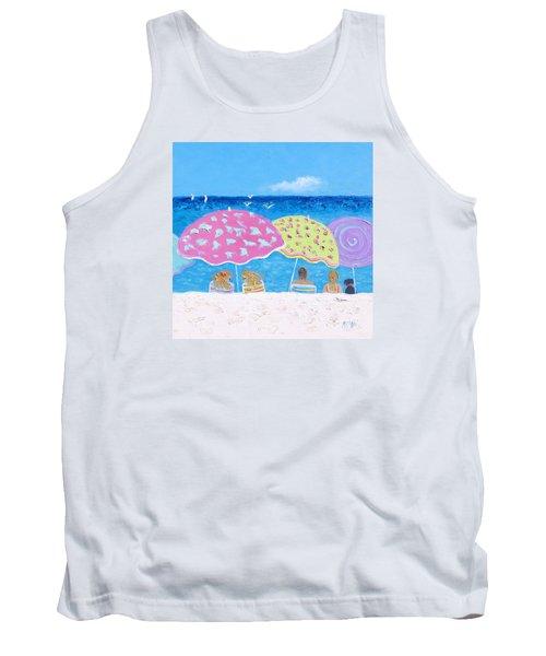 Beach Painting - Lazy Summer Days Tank Top