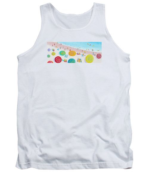 Beach Painting - The Simple Life Tank Top