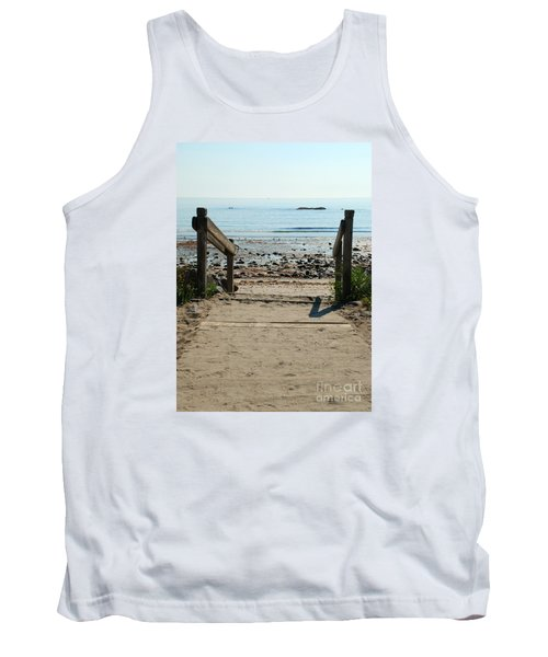 Beach Path Tank Top