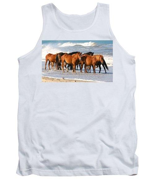Beach Ponies Tank Top
