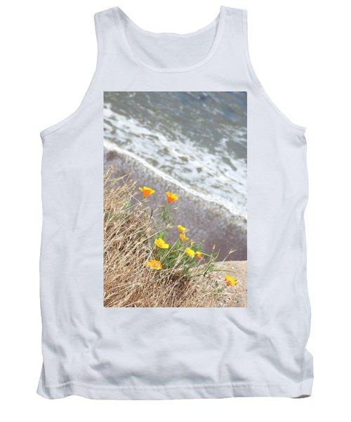 Beach Poppies Tank Top