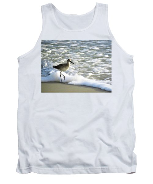 Beach Sandpiper Tank Top