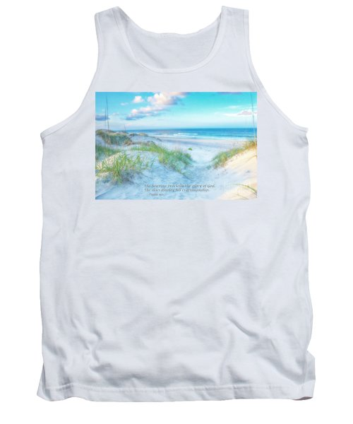 Beach Scripture Verse  Tank Top