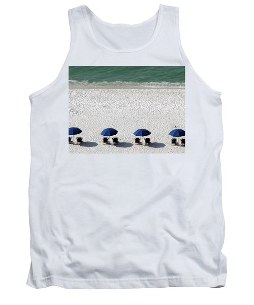 Tank Top featuring the photograph Beach Therapy 2 by Marie Hicks