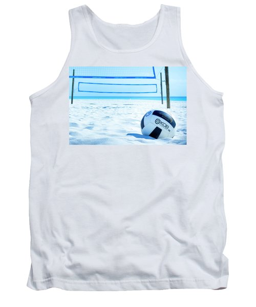 Volleyball On The Beach Tank Top