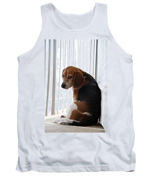 Beagle Attitude Tank Top