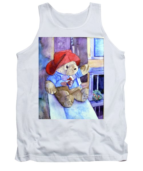 Bear In Venice Tank Top