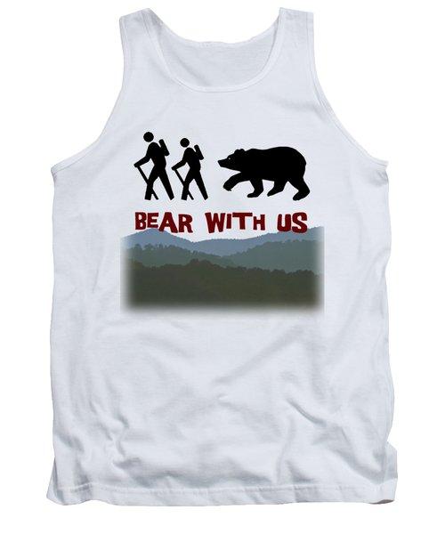 Bear With Us Tank Top by John Haldane