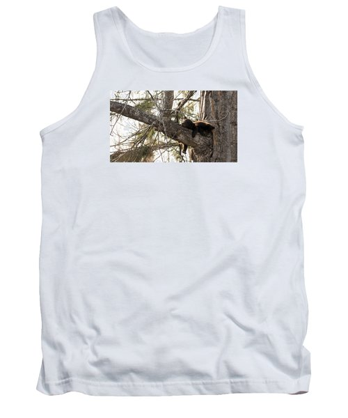 Bearly Hanging In There Tank Top