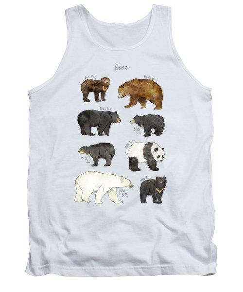 Bears Tank Top by Amy Hamilton