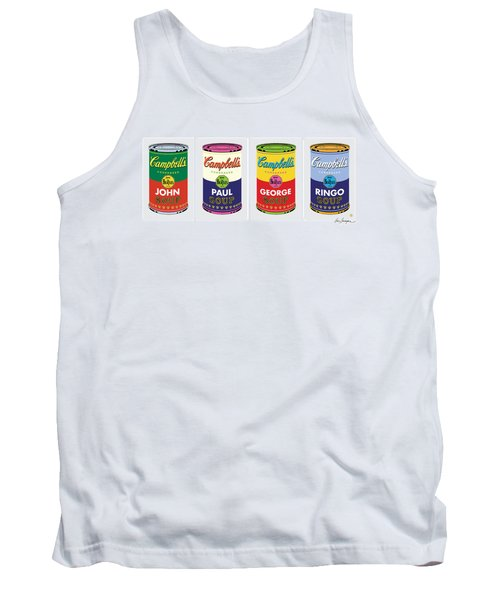Beatle Soup Cans Tank Top