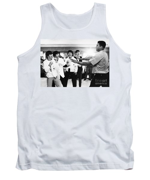 Beatles And Clay, 1964 Tank Top