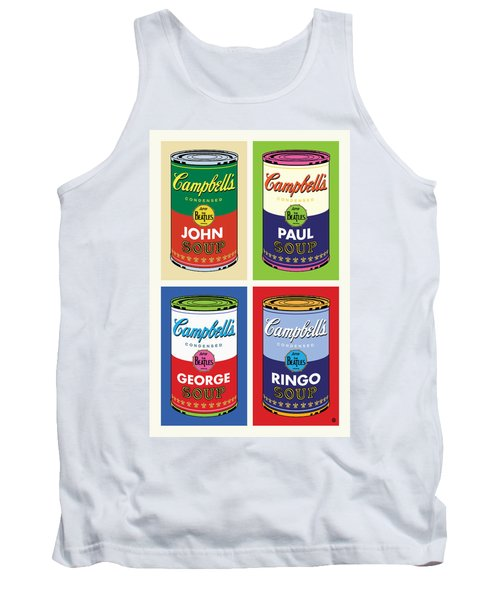 Beatles Soup Tank Top