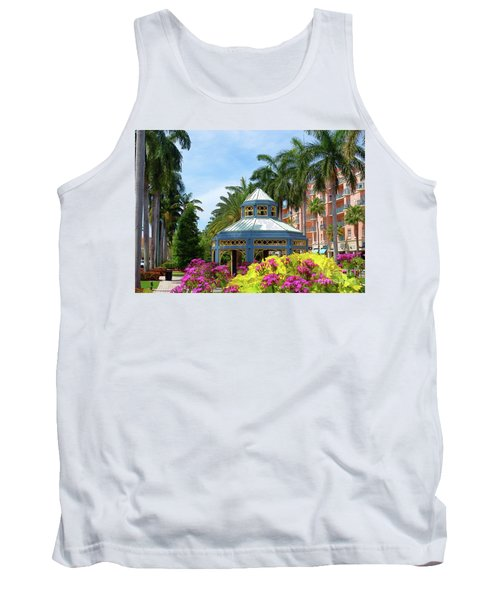 Beautiful Mizner Park In Boca Raton, Florida. #4 Tank Top