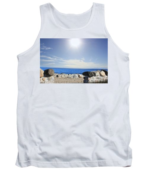 Beauty In The Distance Tank Top by Judy Palkimas