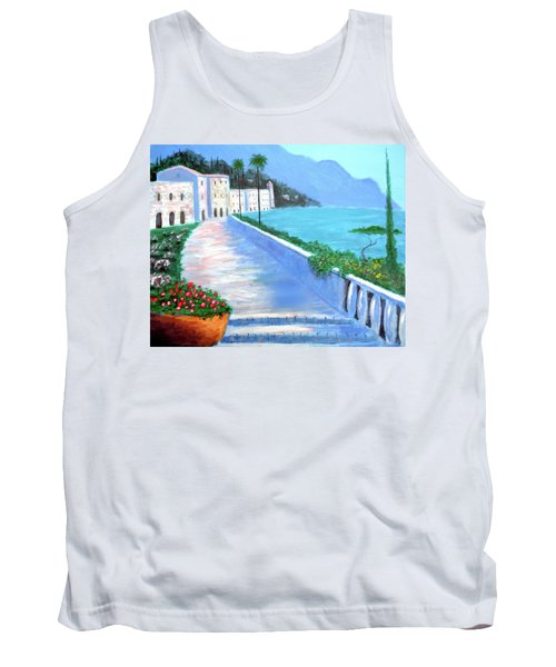 Beauty Of The Riviera Tank Top