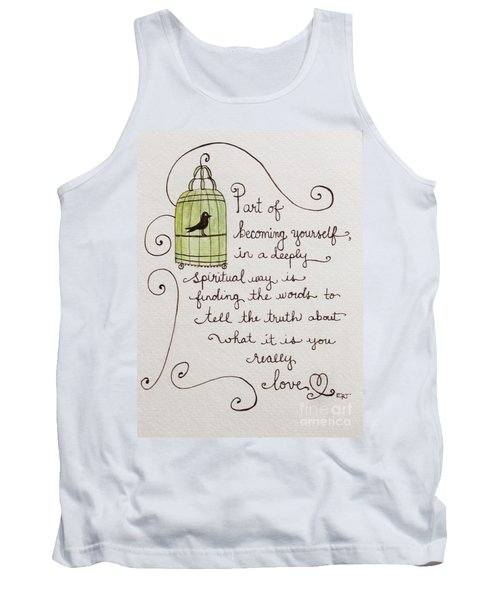 Becoming Yourself Tank Top