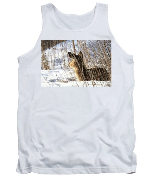 Bedded Fawn 2 Tank Top by Brook Burling