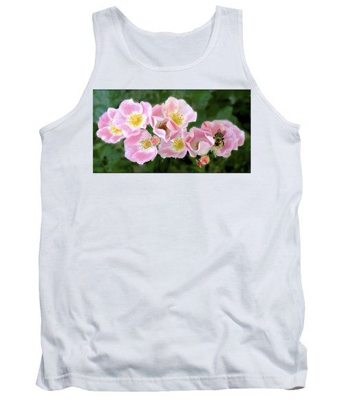 Bee And Roses Tank Top