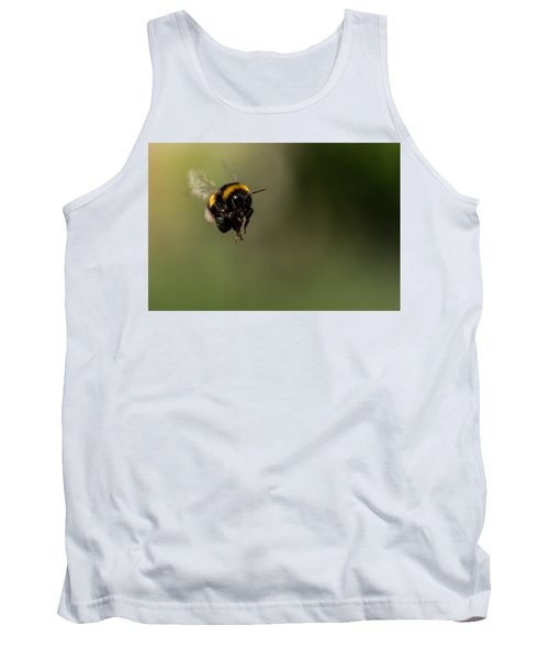 Bee Flying - View From Front Tank Top