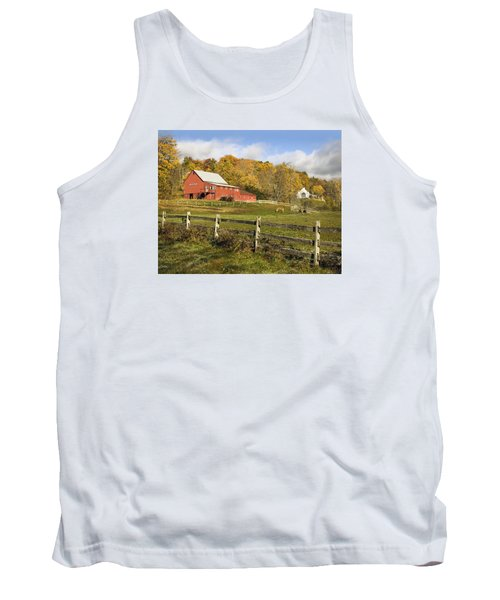Tank Top featuring the photograph Bee Hive Farm, West Windsor, Vt by Betty Denise