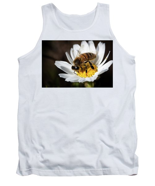 Bee On The Flower Tank Top