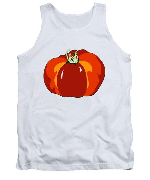 Beefsteak Tomato Tank Top