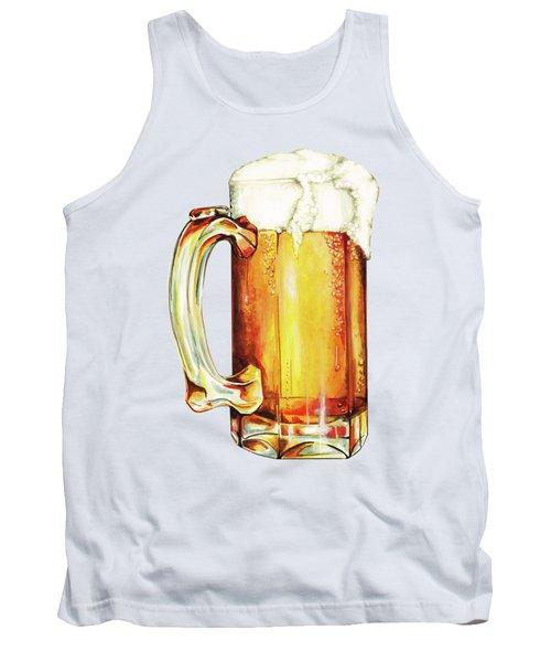 Beer Pattern Tank Top