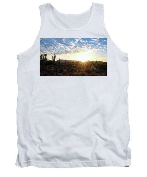 Beginning A New Day Tank Top by Monte Stevens