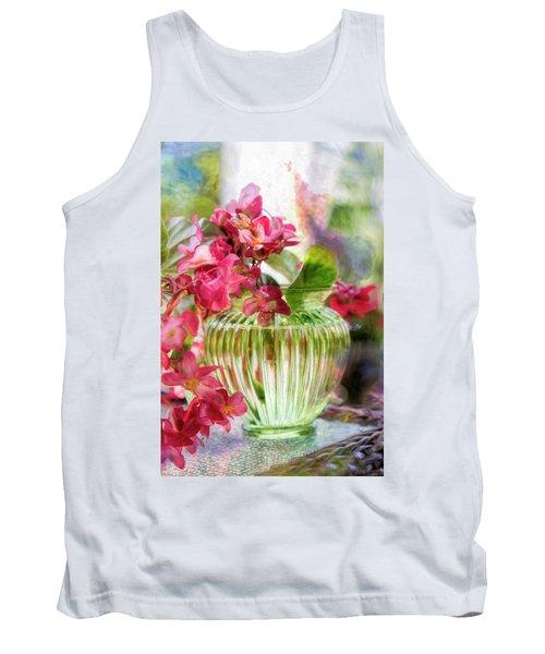 Begonia Art Tank Top