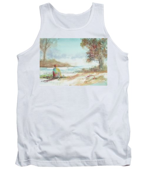 Being Here Tank Top