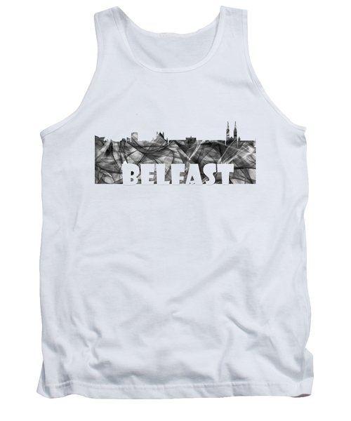 Belfast Ireland Skyline Tank Top