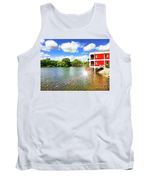 Belize River House Reflection Tank Top