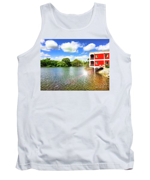 Belize River House Reflection Tank Top