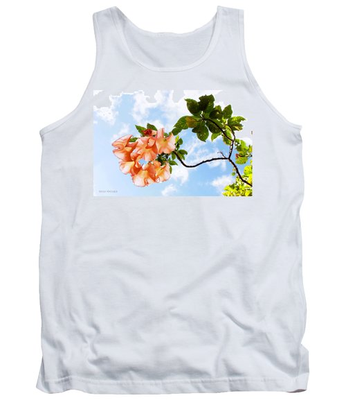 Bell Flowers In The Sky Tank Top