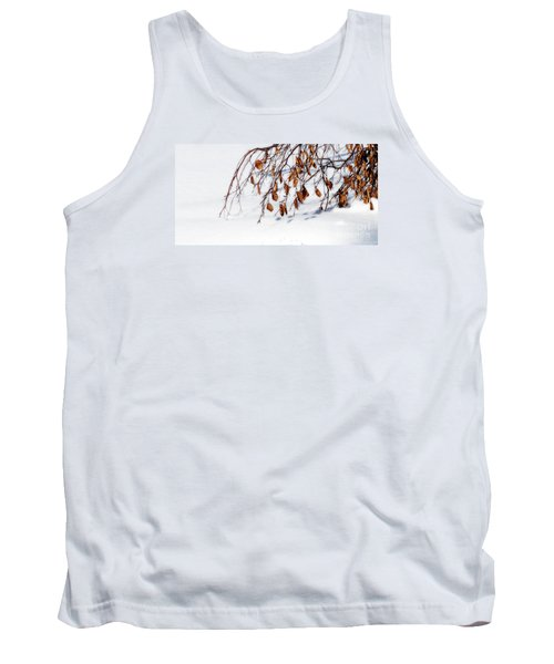 Bending With Silent Reach Tank Top by Linda Shafer