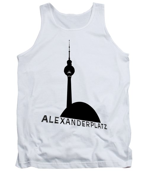 Berlin Alexanderplatz Tank Top by Julie Woodhouse