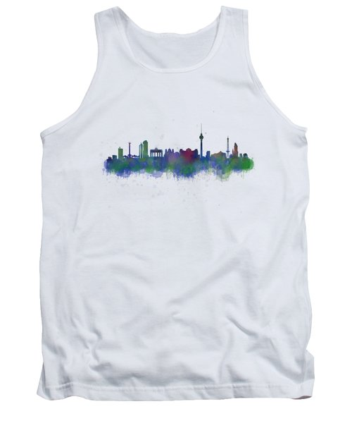 Berlin City Skyline Hq 2 Tank Top by HQ Photo