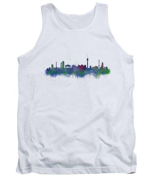 Berlin City Skyline Hq 2 Tank Top